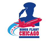 Honor Flight Chicago Mobile Retina Logo